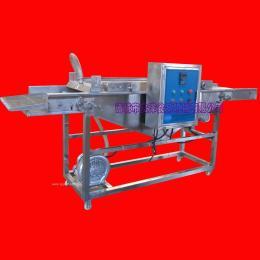 大洋制造*款土豆饼挂浆机|自动化鱼块上浆设备