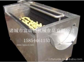富瑞德土豆根茎类毛辊毛刷清洗机