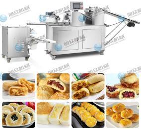 厂家直销二道擀面酥饼机新款多功能仿手工酥饼机一件代发 云南鲜花饼机