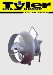 进口潜水搅拌机 进口潜水推流器<美国TYLER系列.