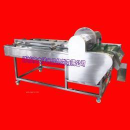 实用的韭菜花切根机  畅销的油麦菜切根设备