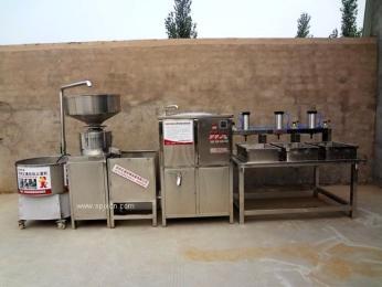 彭大顺豆腐机代替人工做豆腐,提高生产效率