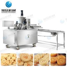 供應廠家直銷新款杏仁餅機小型多功能炒米餅機一件代發 夾心桂花糕機 綠豆粉餅機