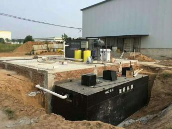 一体化香肠加工厂污水处理设备数据分析