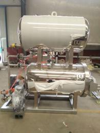 全自動滅菌釜,小型熟食殺菌機器,肉醬殺菌設備