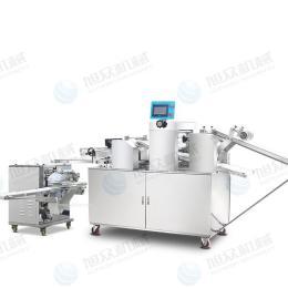 供应旭众牌酥饼机生产线 仿手工酥饼机 酥饼机全套设备 糖酥饼机 苏式月饼机