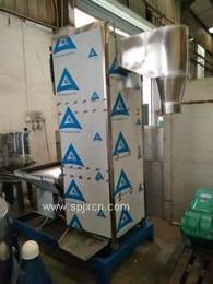 立式脱水机适用于塑料片、粒状物的清洗、脱水。脱水程度高、脱水率97%以上