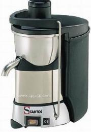 法国Santos 50c 商用蔬果榨汁机 自动排渣 大口径果汁机 现货