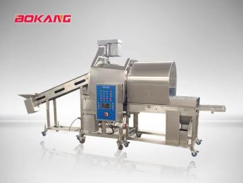 供应博康牌滚筒上粉机  裹粉均匀 产量高 产品图片