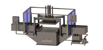 【厂家直销】大型加工设备压面机德盈食品机械 产品图片