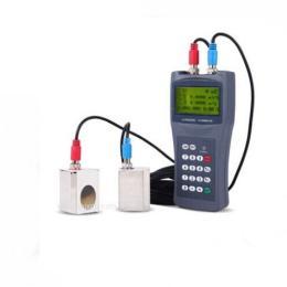 手持式超聲波流量計便攜式外夾式流量計管壁外貼式固超聲波流量計