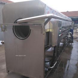 肉制品包装袋洗袋机 食品包装袋清洗机 滚筒式洗的干净