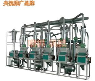 六臺面粉機組-21噸級面粉機械成套設備