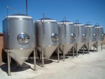 供应二手120立方不锈钢外盘管发酵提取罐