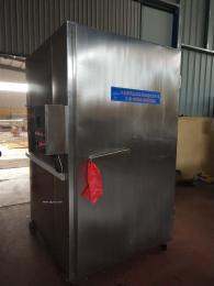 宠物食品生产设备电加热蒸箱蒸房,三层保温10分钟每次环保高效