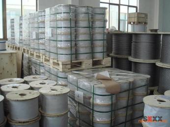 国标304L不锈钢丝绳 隐形防护网钢丝绳价格
