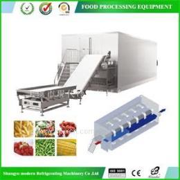 【厂家直销】毛豆速冻机,流态化速冻机设备,食品速冻机械设备
