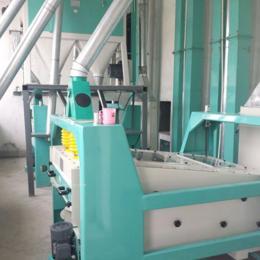 日處理量100T小麥制粉成套面粉機設備