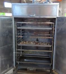 土豆片烘干箱 ,小型箱式烘干设备
