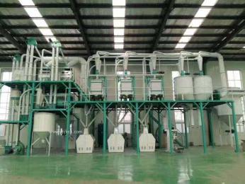 小型面粉機日處理30面粉廠設備
