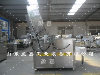 湖南燃气型大米锅巴油炸机 产品图片