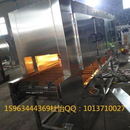肉类烧毛机 进口猪蹄烧毛机连续加工设备