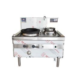 商用廚房炊事設備山西紅外感應單炒單溫燃氣灶
