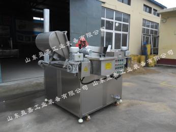 广州汉堡肉饼油炸机,高低温燃气型油炸机