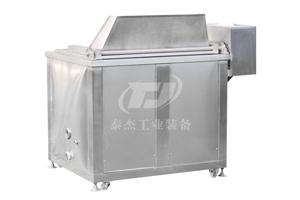 浙江厂家直销泰杰TJ-1000沙琪玛油炸机小鱼干油炸机自动过滤油炸机