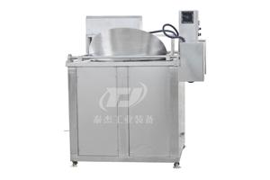 黑龙江厂家直销泰杰TJ-1000全自动香米花生豆泡油炸机沙琪玛油炸机