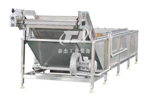 山东厂家直销泰杰TJ-6000全自动果蔬清洗机多功能蔬果清洗设备