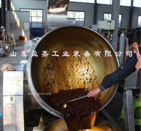重庆火锅底料全自动行星搅拌炒锅