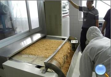 面包糠微波杀菌干燥设备