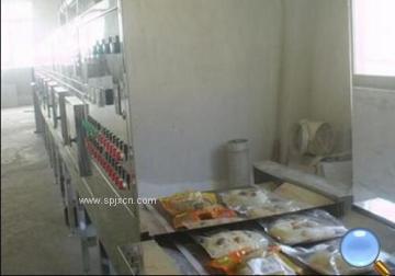 袋装食品微波杀菌设备