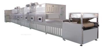 2018新型牛肉干微波杀菌干燥机械