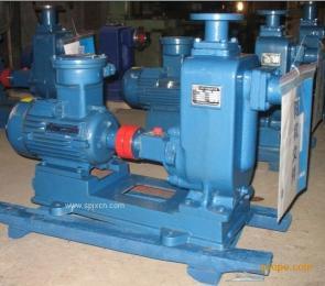 WZ自吸式無堵塞排污泵