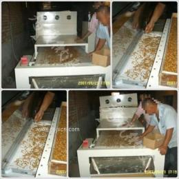 生产五谷杂粮微波熟化机的厂家
