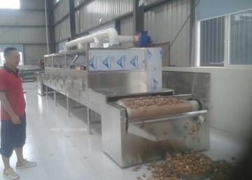 五香花生全自动化流水线烘烤烘焙设备