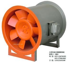 HLF低噪聲混流式風機箱