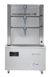 方宁商用电磁万能蒸柜三门海鲜蒸柜