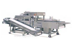 博康牌大型粘粉鱼排裹粉机  鲜面包屑机