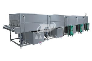 喷淋式设备隧道式低温灭菌巴氏杀菌流水线塑料装灭菌设备