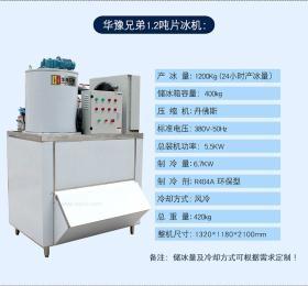 1.2吨片冰机 食品厂制冰机
