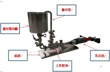 阻燃剂高速乳化机