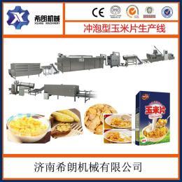 加工膨化食品玉米片设备