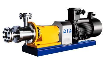 管線式三級高剪切乳化機
