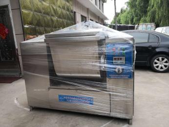 新疆拉条子真空和面机,50公斤两包面真空和面机选择齿形