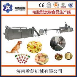 狗狗零食 單雙色咬膠生產設備