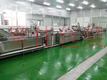 重庆火锅叶菜加工中心全自动洗菜机