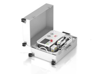 华工激光便携式光纤激光打标机供应